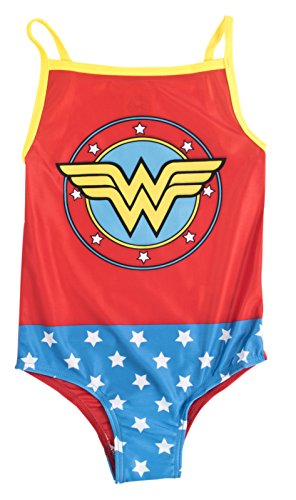 Disney Girls Character Swimming Costume Wonder Woman
