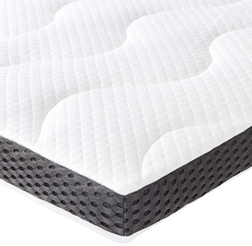 AmazonBasics Sur-matelas en mousse-gel 7cm - 160 x 200 cm