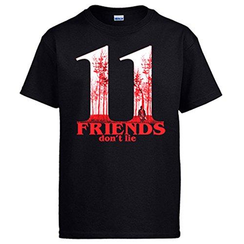 Camiseta Stranger Things Friends Dont Lie Eleven póster