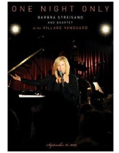 Barbra Streisand One Night Only DVD/CD