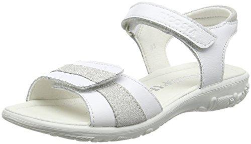 Ricosta Marie, Sandales à talon fille White (Weiss/Bianco 816)
