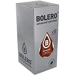 Bolero FPID-122901-BG - Bebida Instantánea con sabor tamarindo, Paquete de 12 x 9 gr - Total: 108 gr