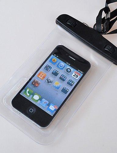 ZQ Outdoor Aktivitäten Trompete Handy wasserdichte Tasche mit Kopfhörer (verschiedene Farben) schwarz - schwarz