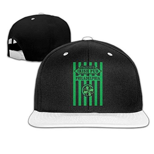 JIEKEIO Funny Baseball Caps Hats It's Always Sunny in Philadelphia Paddy's Irish Pub Snapback Hat Hip Hop Baseball Caps