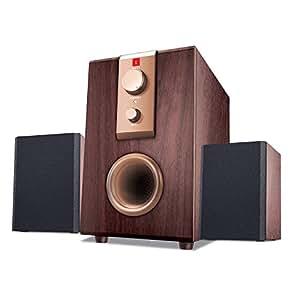 iBall Rhythm 69 2.1 Channel Multimedia Speakers (Wood)