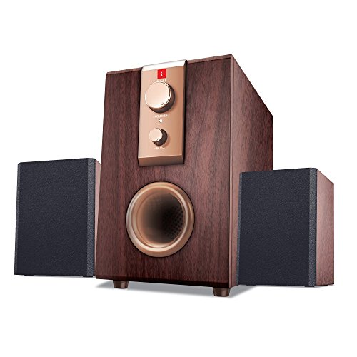 iBall Rhythm 69 2.1 Channel Multimedia Speakers (Wood)