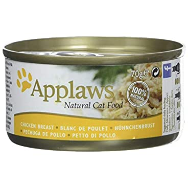 Applaws Kitten Tin Chicken 24x70g