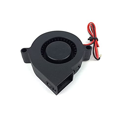 12V DC 0.01A 3D Printer Blowing Fan for Cooling Heatsinks and Prints Black