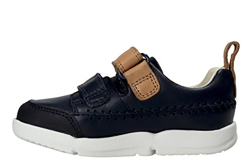 Clarks Tri Aspire Fst, Chaussures Marche Bébé Garçon Bleu (Navy)