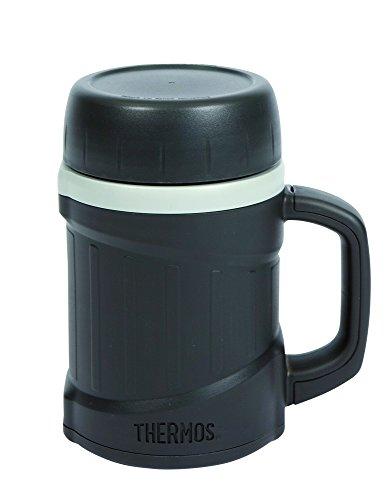 Thermos, Tazza termica, compatibile con forno a microonde, Grigio (dunkelgrau)