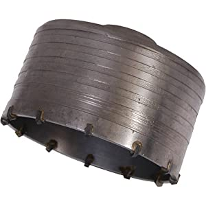 Silverline 581694 – Corona perforadora de TCT (125 mm)