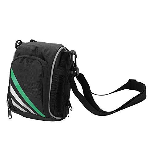 Dilwe Fahrrad Fronttasche, Qualität Nylon Multifunktions Fahrrad Front Lenkertasche mit Schultergurt für Klapprad Mountainbike Rennrad