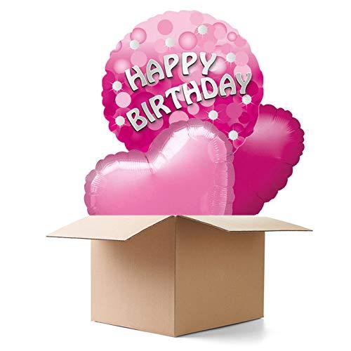 longrüsse Pink Sparkle Party HB, 3 Ballons ()