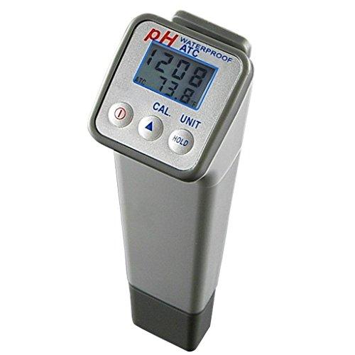 Generisches PH-Wert und Temperatur-Messgerät mit ATC-Funktion, automatisch oder manuell 3-Punkt-Kalibrierung (Hm Digital Ph-meter)