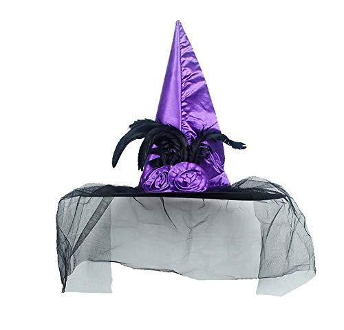Halloween Hexe Hut Kostüm Zubehör für Haloween Party, M5