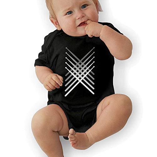 Bodys & Einteiler,Babybekleidung, Baby one-Piece Suit,Baby Jumper,Pajamas, Baby Boy Bodysuits, Fading Percussion Drum Sticks Best Baby Bodysuit Baby Clothes