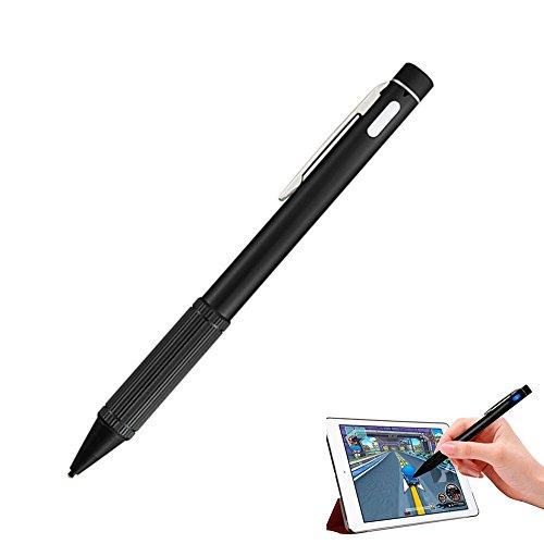 owikar Active Eingabestift wiederaufladbar sehr präziser Fine Point Kapazitive Stift mit ultra dünn 1,45mm Kupfer Tipp für iPad Air/Pro/Mini PC Samsung Xiaomi Huawei Android-Geräte Pocket-kreide