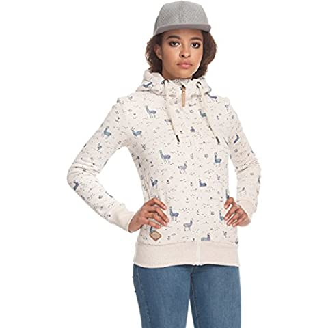 Sweater Hooded Zip Women ragwear Angel Zip Hoodie