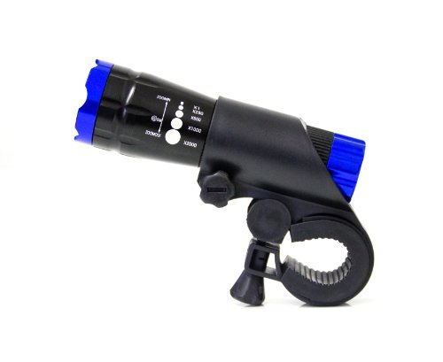 Led Fahrradbeleuchtung Fahrradlampe Fahrradlicht schwarz-blau NEU / Marke PRECORN