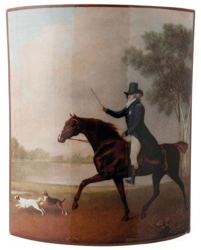 John Beswick Stubbs King George IV cheval Art Vase céramique Hauteur 20 cm