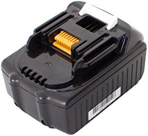 Vhbw Li-Ion Batteria 1500mAh per utensile elettrico elettrico elettrico Makita BTD142HW, BTD142RHE, BTD142SHE, BTD142Z, BTD144, BTD144RFE sostituisce BL1815, 194204-5. | Aspetto estetico  | Materiali Di Alta Qualità  | Materiali Selezionati Con Cura  b21b04