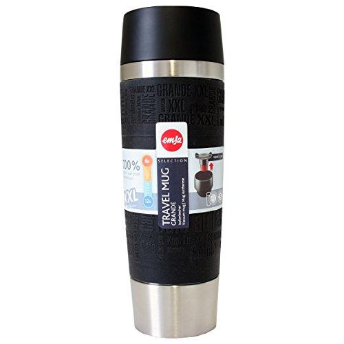 Emsa Travel Mug Isolierbecher Grande Schwarz 0,5l