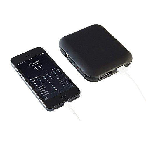 ZNEX Vbee Select Edition V2   portabler Akku 13600mAh   Ultra Kompakt Dual USB Power-Bank Ladegerät für iPhone iPad Samsung Galaxy Smartphone Handy   4,1A Output   Smart Power Ports für maximale Ladegeschwindigkeit   Daisy chain - Gleichzeitiges entladen und laden Galaxy S4 Fällen Mit Akku-pack