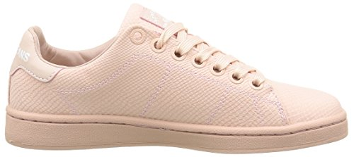 Pepe Jeans Club Monocrome, Baskets femme Rose (325 Pink)