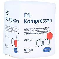 ES-KOMPRESSEN unsteril 10x10 cm 8fach 100 St Kompressen preisvergleich bei billige-tabletten.eu