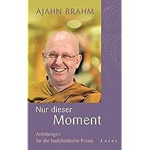 Nur dieser Moment: Anleitungen für die buddhistische Praxis