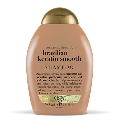 OGX Ever Straightening + Brazilian Keratin Smooth Shampoo 385 ml