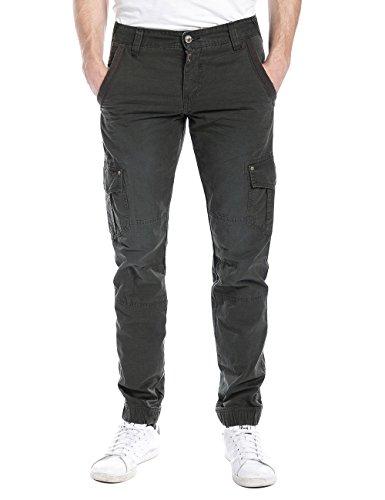 Timezone Herren Cargo Hose HunterTZ pants, Gr. W33/L32, Grün (pirate green (Pants Pirate Herren)