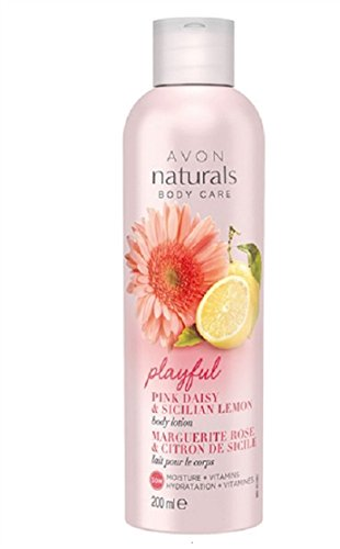 Avon Naturals Pink Daisy & Sicilian Lemon Body lotion