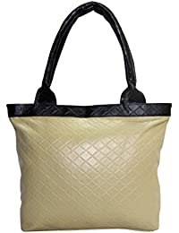 Borse Women's Shoulder Bag (Beige & Black)
