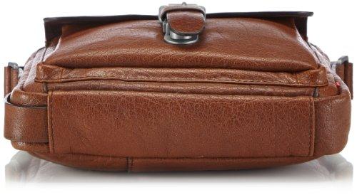 Strellson Greenford ShoulderBag SV 4010001279 Herren Schultertaschen 22x25x7 cm (B x H x T) Braun (cognac 703)