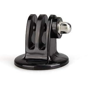 1 x Stativ Adapter Tripod Mount Ersatzteil für GoPro Kamera Zubehör Schwarz