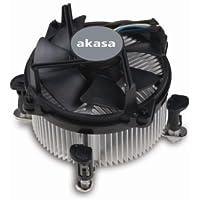 Akasa AK-955 Procesador - Ventilador de PC (Procesador, LGA 775 (Socket T), 31,5 dB, 92 x 80 x 25,4 mm, 3000 RPM)