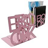 A-szcxtop (TM) Creative portable Lettre Art serre-livres rose