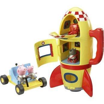 Peppa Pig nave espacial Explorador Set con sonido