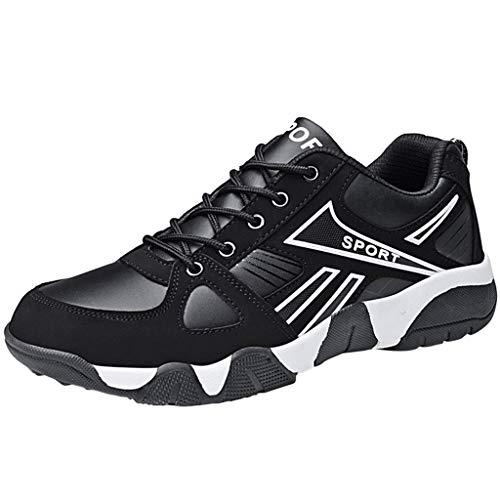 Sportschuhe Herren Damen Laufschuhe Turnschuhe Sneakers Leichte Schuhe Sicherheitsschuhe Herren luftdurchlässige Leichte 36-45 EU By Vovotrade Heel Ankle Wrap Mini
