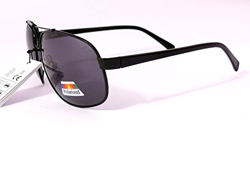 lunettes de soleil polarisantes polarisées sport verres effet miroir aviateur aviator polarisés homme femme 8AF101 (monture argent verres miroir, largeur:135mm hauteur:51mm)