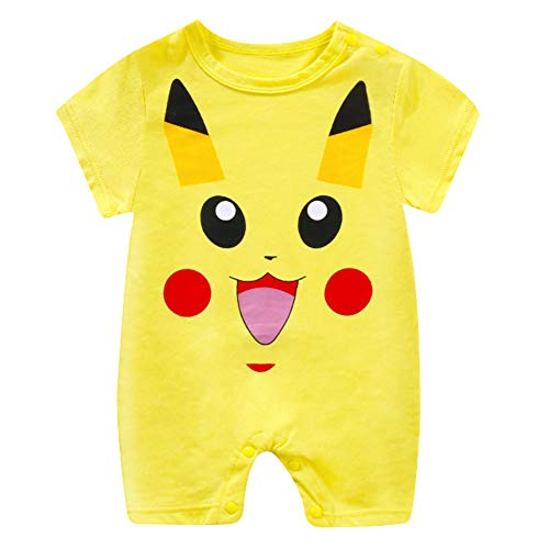 Baby Junge Neugeborenen Totoro Strampler Unisex Baby Pikachu Playsuit Sommer Outfits Strampelanzug Sunsuit - Totoro Strampelanzug Kostüm