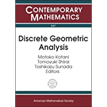 Amazon sunada books discrete geometric analysis contemporary mathematics fandeluxe Image collections