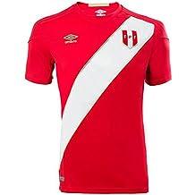 Umbro 2018-2019 Peru Away Football Shirt (Kids)