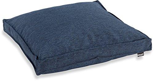 H.O.C.K. Denim Blue Outdoor Sitzkissen 50x50x5cm Sun (Blue Denim Kissen)
