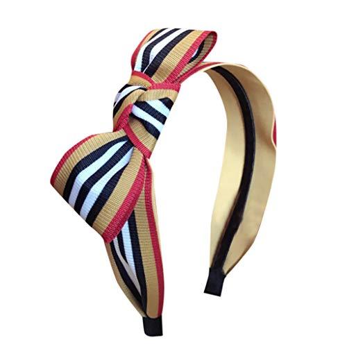 Stirnbänder für Damenmode Damen Kristall Stirnband Stoff Haarband Kopf wickeln Haarband Zubehör niedlich Haarschmuck Stirnband Dekoration Einkaufen Sport Kleidung Schuhe Zubehör Stirnband (Gelb) -