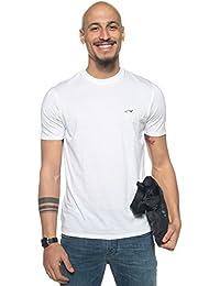 ARMANI JEANS - Hommes manches courtes t-shirt avec logo double pack