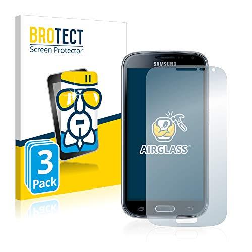 BROTECT Panzerglas Schutzfolie für Samsung Galaxy K Zoom SM-C115 [3er Pack] - Flexibles Airglass, 9H Härte, Anti-Kratzer