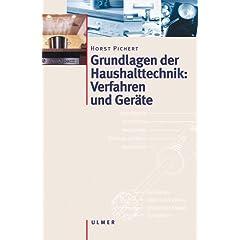 Haushalttechnik: Verfahren und Geräte