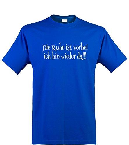 ren T-Shirt, Die Ruhe ist vorbei, royal, Gr. XXL (Halloween Ist Vorbei)